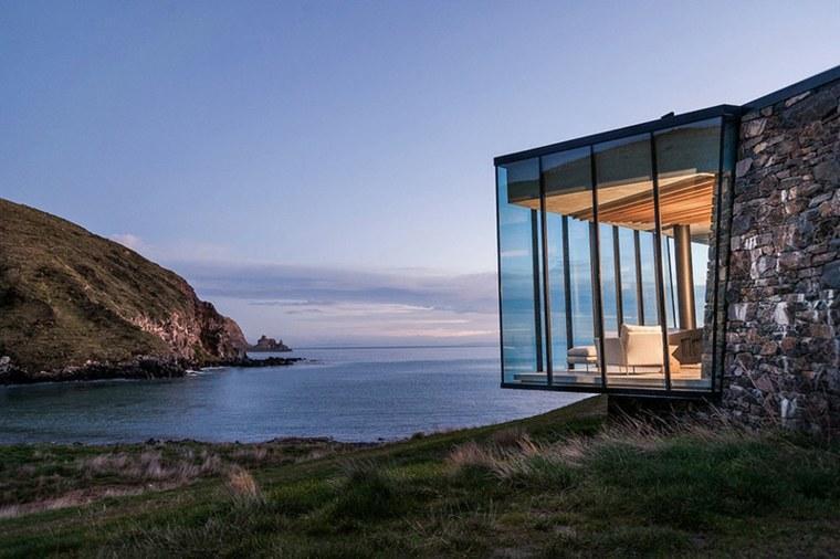 Maison bord de mer - illustration
