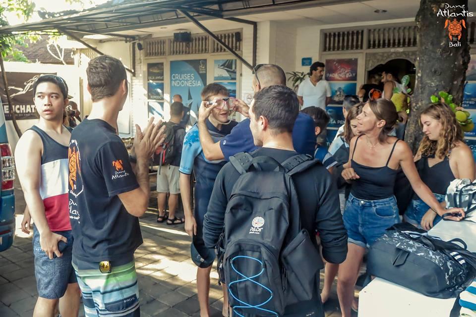 Forfaits de voyage au centre plongée Bali