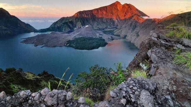 Le panorama à Lombok ne fait nous jamais déçu