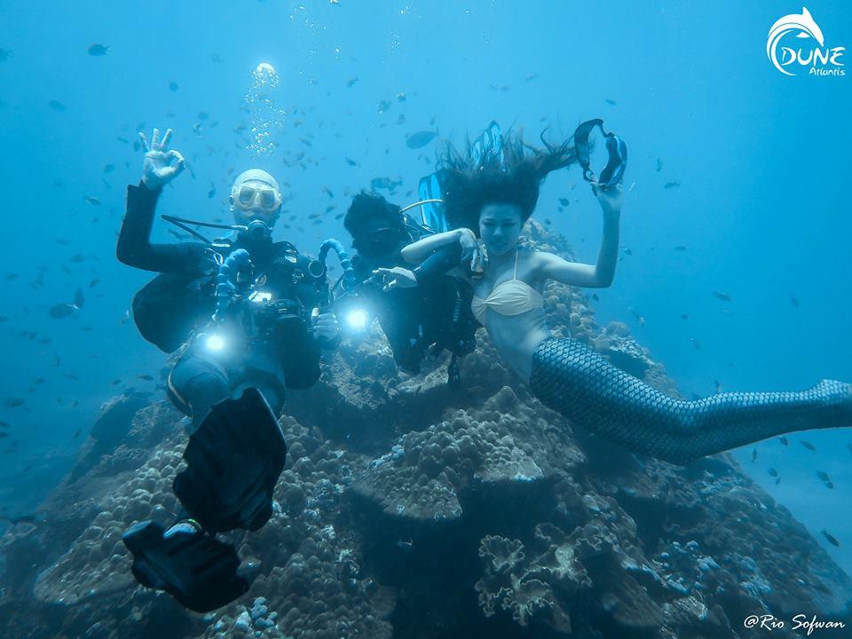 Endroits recommandés pour la Bali plongée