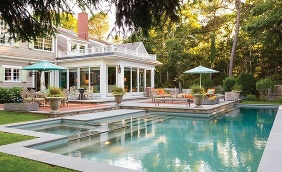La piscine pour la décoration et vous allez l'aimer!